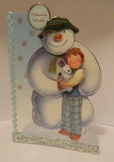 Tracey Anne Designs:The Snowman & The Snowdog/ Father Christmas from #crafterscompanion