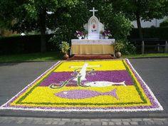 Todo con las flores: decorar, crear, degustar, cuidar...................: Lo mejor de las flores y el Corpus Christi