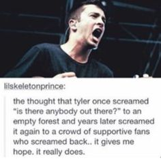 Dude, you can see that he is really into it and that's why I love these two boys because they really mean good. As they're fighting with their own minds, they are taking us along, the clique, to be their guides. And I love that