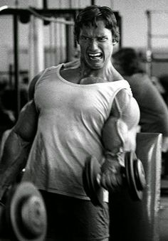 Even Arnold looked like he was going to cry sometimes.