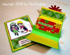 Giftcard holder card