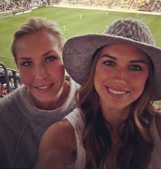Allie Long and Alex Morgan. (Instagram)