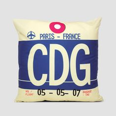 CDG - Pillow Cover