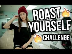 ROAST YOURSELF CHALLENGE | Emma Verde - YouTube Emma Verde, Roast, Challenges, Cool Stuff, My Love, Youtube, Adidas, Hair, Songs