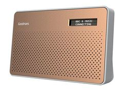 LOWEST EVER AMAZON PRICE Goodmans Canvas DAB Radio - Copper. Many 5 star reviews NOW £19