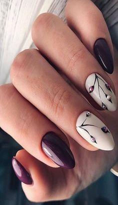 beautiful hand nails Toe Nail Designs, Acrylic Nail Designs, Acrylic Nails, Nails Design, Toe Nails, Coffin Nails, Accent Nails, Nail Arts, Christmas Nails