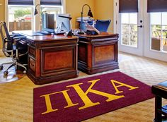 Buy a licensed Pi Kappa Alpha Fraternity Logo Rug . Show your Pike pride. Rug Rats is a trusted name in custom rugs. Free Samples. Free Shipping.