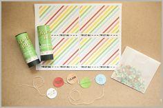 More Design Please - MoreDesignPlease - Confetti Invitations