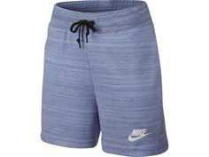 9d5958b76851 Nike Womens Sportswear Blue Av15 French Terry Knit 4.5