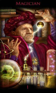 1 - Le magicien - Legacy of the Divine Tarot par Ciro Marchetti The Magicians, Divine Tarot, The Magician Tarot, Divination Cards, Tarot Major Arcana, Tarot Spreads, Oracle Cards, Tarot Decks, Fantasy Art