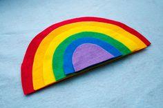Felt Rainbow Montessori Colors Early Education by CakeInTheMorn