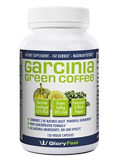 The BEST combination of Garcinia Cambogia Extract And Green Coffee Extract available, 120 Caps proven successful appetite suppressant and weight loss supplement ** Click on the image for additional details.