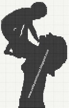 Mama podnosząca swoje maleństwo baby x-stitch cross stitch b Cross Stitch Baby, Cross Stitch Charts, Cross Stitch Patterns, Cross Stitch Silhouette, Silhouette Art, Horse Pattern, Pattern Art, Alfabeto Disney, Knitted Dolls