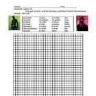 This document contains 2 activities: a vocabulary practice worksheet and a spelling quiz about these words.This particular activity is particul...