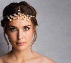 Roz Purcell wearing Newbridge eShe Headpiece #Newbridge #eShe Statement Jewelry, Headpiece, Jewellery, Earrings, How To Wear, Accessories, Fashion, Ear Rings, Moda