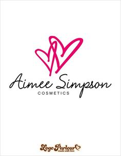 Premade Logo, Pre-Made Fashion Logo, Business Logo Design HOW IT WORKS: The product must be purchased before the name change occurs.*Please Provide: Business Na Logo Facebook, Heart Logo, Script Logo, Business Logo Design, Feminine, Logos, Parlour, Hearts, Fashion