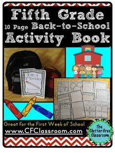 This Back to School Booklet will help make your planning for the first week easier and provide your students and their families with a memorable keepsake.I originally designed a version of this booklet to use with my own third grade students. I wanted to have an activity that they could work on independently throughout the first few days of school and have since made differentiated versions for grades Kindergarten through Fifth.Having taught for many years, I know that there are always some…