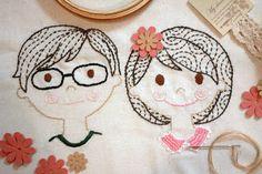 Cute couple by ria-paramita.blogspot.com