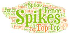 "Coole Lernmethode für diesen Satz: ""There are spikes on top of the fence."" #Englisch Language, Learning Methods, Simple Sentences, English, Learning, Language Arts"