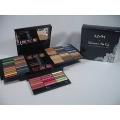 Nyx Makeup Set Beauty to Go-the Ultimate Beauty Box. wish i knew how to put the stuff on! :-(