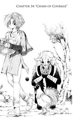 Akatsuki no Yona Yoon and Shin-Ah