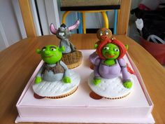 "Cupcake ""Shreek"" homemade by greenvera_cake"