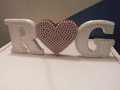 Letras 3D em MDF para casamento