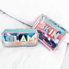 """Stoney Clover Lane on Instagram: """"Give your skin & glam pouches an upgrade"""" Cute Bags, Preppy, Patches, Accessories, Instagram, Preppy Style, Jewelry Accessories"""