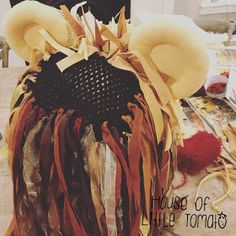 """""""She had managed to procure a hat shaped like a life-sized lion's head, which was perched precariously on her head."""" See post 1 with the . Luna Lovegood, Ropa Burning Man, Lion Hat, Christmas Clearance, Harry Potter Birthday, Gold Embroidery, African Jewelry, White Clay, Eye Shapes"""
