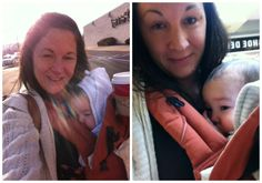 Babywearing helped us get through Black Friday shopping without a care in the world. Just keep 'em close and facing in!