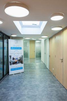 Proyecto de iluminaci n led oficinas del gabinete for Iluminacion led oficinas