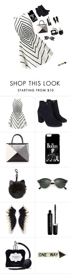 """""""Pretty Girl"""" by racheal-taylor ❤ liked on Polyvore featuring Halston Heritage, Monsoon, Fendi, Ray-Ban, Marc Jacobs and Victoria's Secret"""