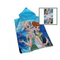 Poncho Frozen - Telo Spugna mare - Accappatoio 50x100 - Novia