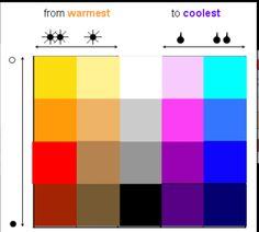 Cool colors...