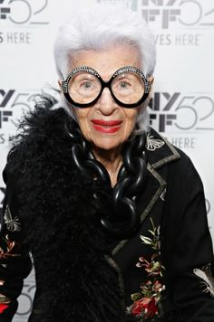 Iris Apfel on how to develop your personal style and her best fashion advice