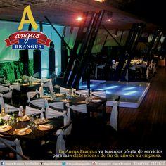 En Angus Brangus puedes celebrar tus fiestas de fin de año, con exquisita gastronomía. Pide una cotización con nosotros, contacto: 2321632 Ext. 101.  http://www.angusbrangus.com.co/salones-para-eventos-gallery/