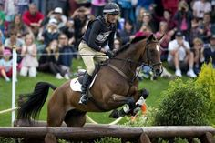 New Zealander Mark Todd, riding Campino, comes through the water jump during the cross country phase of the equestrian at Greenwich Park during the 2012 London Olympic Games. Olympic Equestrian, London Olympic Games, Greenwich Park, Cross Country, New Zealand, Olympics, Racing, Events, Horses