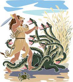 Ο ΗΡΑΚΛΗΣ - Χρονος Παρακειμενος Konstantinos Paliouras class Age Of Mythology, Greece Mythology, Greek And Roman Mythology, Greek Gods, Nemean Lion, Greek Pantheon, Ancient Greece, Mythical Creatures, Ancient History