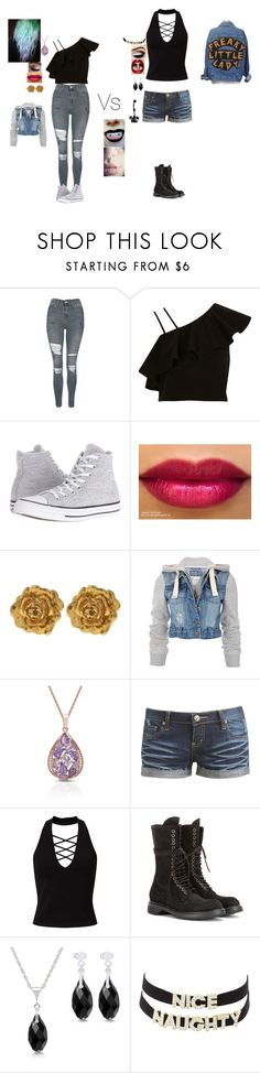 """""""Innocent Vs my demon"""" by septicplier-mangle ❤ liked on Polyvore featuring Topshop, River Island, Converse, Liberty, Soul Cal, Dolce Giavonna, Wet Seal, Miss Selfridge, Rick Owens and Charlotte Russe"""