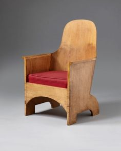 H. Blairman and Sons » 1799 – The 'Megaw' armchair Simple Furniture, Side Chairs, Plywood, Sons, Armchair, Cushions, Antiques, Birch, Design