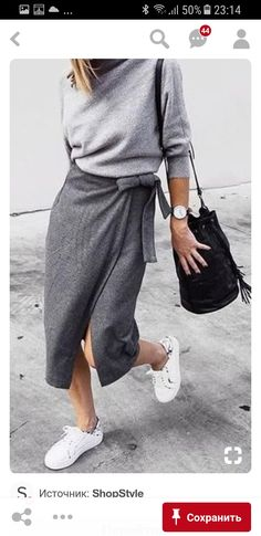 Summer's best looks are as easy as they are stylish. Enjoy our 20 Stylish Wrap Skirts outfits to rock this summer. In summer you can be much Look Fashion, Autumn Fashion, Fashion Outfits, Fashion Trends, Sneakers Fashion, Paris Fashion, Womens Fashion, Feminine Fashion, Minimal Fashion