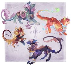 Aetherlings: Temperaments (closed) by kuritures on DeviantArt