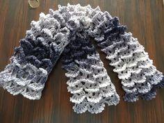 Picot Shell Stitch Scarf - Crochet Tutorial - YouTube