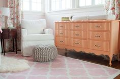 Our nursery inspiration, with a dash more coral!