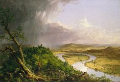 Thomas Cole. The Oxbow (The Connecticut River near Northampton) (1836)