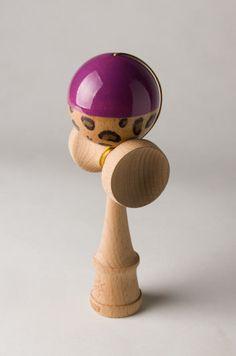 kendamas | Lamani Customs – Half N Half – Leopard & Purple Purple, Kids, Games, Young Children, Boys, Gaming, Children, Viola, Boy Babies