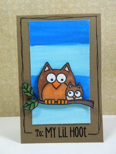HA Lil Hoot card