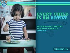 Every Child is an artist. Learn more activities everyday at My Gym summer camp. Visit our Website: http://www.mygym.com/ahmedabad #MyGym #MyGymFun #BirthdayParty #Parents #SummerCamp #MyGymAhmedabad #Facts #Physical #Social #Cognitive #Emotional #Development #InteractiveSkill #Tumbling #Agility #Songs #Dance #PuppetShows #Swings #Adventure #Ahmedabad #Gujarat #Kids #Children