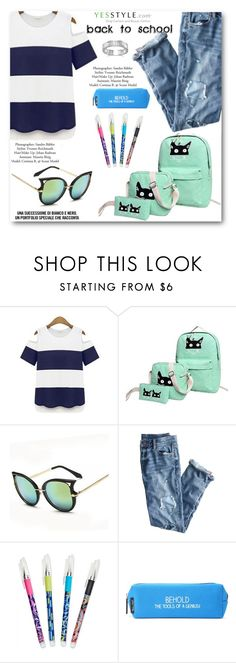 """BACK TO SCHOOL"" by angelstar92 ❤ liked on Polyvore featuring KOON, J.Crew, Vera Bradley, Happy Jackson, BillyTheTree, BackToSchool, outfit and yesstyle"