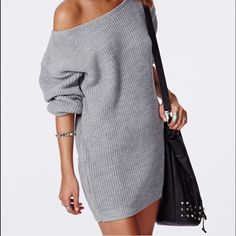 SALE ❤️ Missguided sweater dress. Size S/M amazing condition, worn once. Missguided Dresses